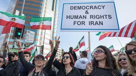 تظاهرات إيرانية في الخارج تأييدا للاحتجاجات في إيران