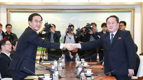 الكوريتين تجري محادثات ثنائية