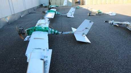 الطائرات بدون طيار التي استخدمت لمهاجمة المواقع العسكرية الروسية في سوريا