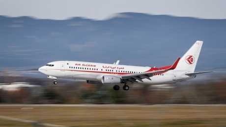 طائرة ركاب جزائرية