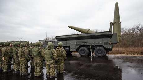 """أرشيف - منظومة """"إسكندر"""" للصواريخ التكتيكية"""