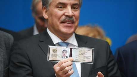 المرشح للرئاسة الروسية بافيل غرودينين