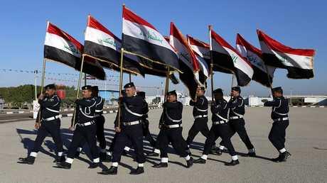 صورة أرشيفية لعناصر الشرطة العراقية