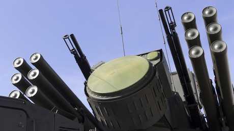 "صواريخ أرض- جو من طراز ""بانتسير- S1 """
