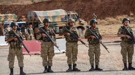 القوات التركية في سوريا (صورية من الأرشيف)
