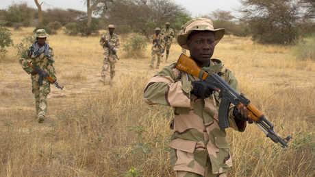 جنود نيجريون