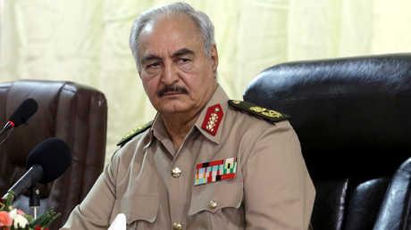 قائد الجيش الوطني الليبي، المشير خليفة حفتر
