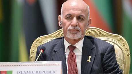 أشرف غني رئيس أفغانستان