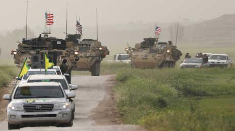 قوات أمريكية وقوات من سوريا الديمقراطية - أرشيف
