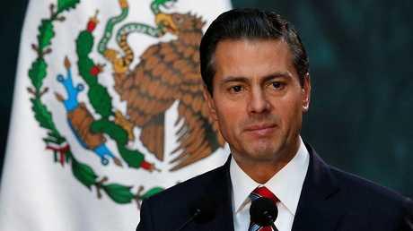 الرئيس المكسيكي انريكي بينا نيتو