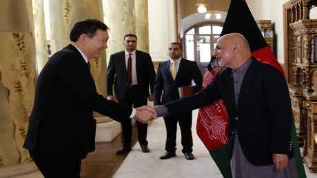 الرئيس الأفغاني أشرف غني يستقبل الوفد الأممي في كابل
