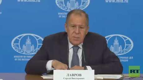 لافروف: واشنطن لا تريد وحدة أراضي سوريا