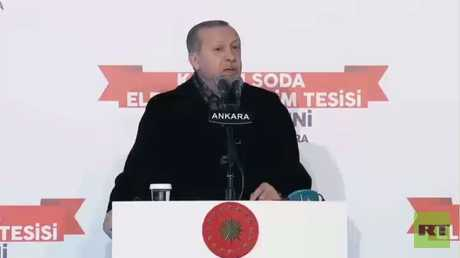 أردوغان: سنقضي على جيش تدعمه واشنطن