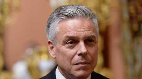 السفير الأمريكي بموسكو جون هانتسمان