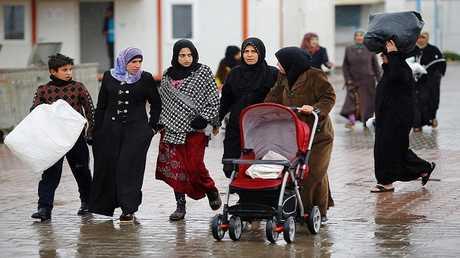 لاجؤون سوريون في تركيا - أرشيف -