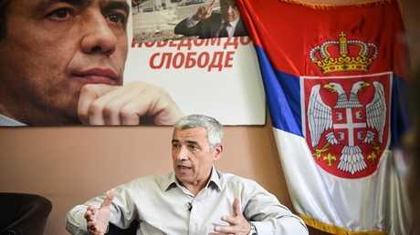 السياسي الصربي أوليفر إيفانوفيتش