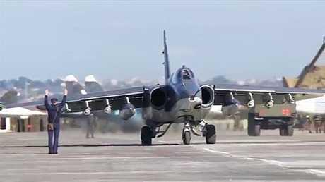 قاعدة حميميم الروسية في اللاذقية