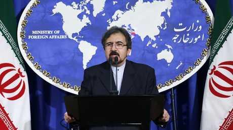 المتحدث الرسمي باسم وزارة الخارجية الإيرانية بهرام قاسمي