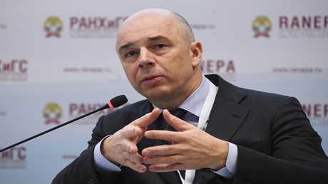 وزير المالية الروسي، أنطون سيلوانوف