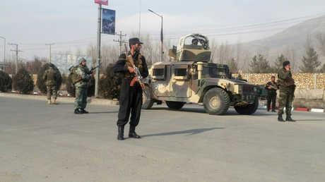 عناصر قوات الأمن الأفغانية
