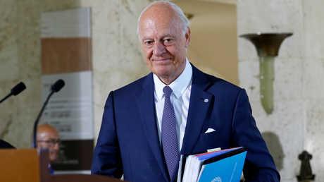 ستيفان دي ميستورا، المبعوث الدولي الخاص إلى الشأن السوري