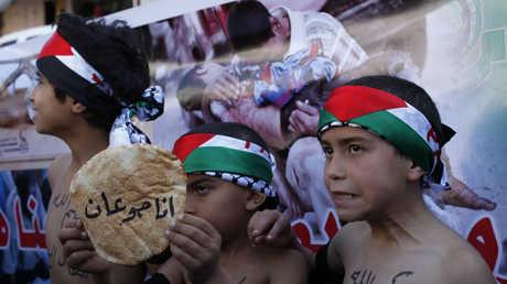 أطفال فلسطينيون في غزة