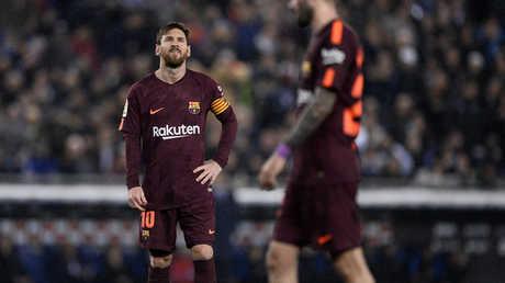 برشلونة يتجرع الهزيمة الأولى هذا الموسم