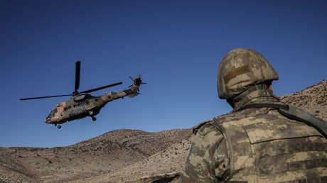 تدريبات الجيش التركي