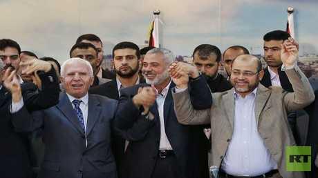 اتفاق المصالحة الفلسطينية بين حركتي فتح وحماس - أرشيف