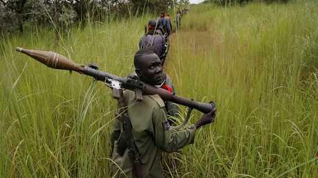 متمردون في جنوب السودان - أرشيف