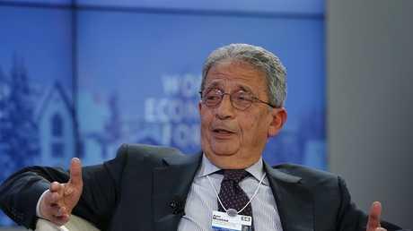 أمين جامعة الدول العربية الأسبق عمرو موسى