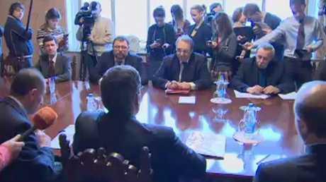 بوغدانوف وأنصاري يبحثان مؤتمر سوتشي
