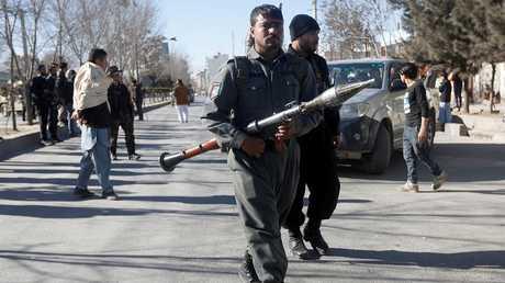 قوات الأمن الأفغانية - أرشيف