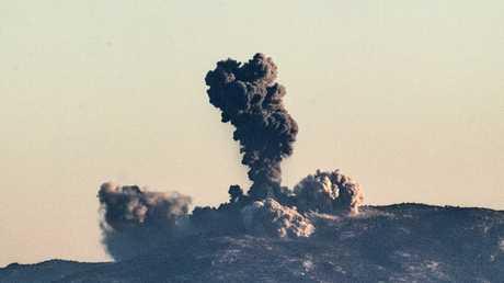 القصف التركي على عفرين