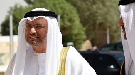 وزير الدولة للشؤون الخارجية الإماراتية أنور قرقاش