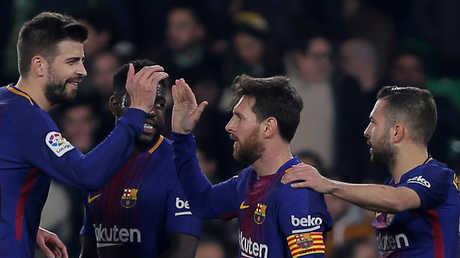 برشلونة يبتعد في صدارة الليغا بفوز ساحق على ريال بيتيس