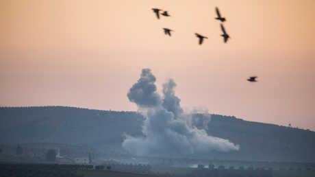 الجيش التركي يستهدف مواقع الأكراد في عفرين