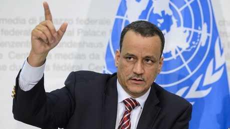 المبعوث الخاص للأمين العام للأمم المتحدة الى اليمن ولد الشيخ أحمد