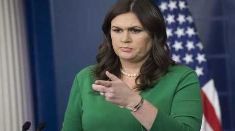 سارة ساندرز، المتحدثة باسم البيت الأبيض