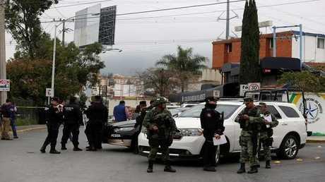 الشرطة تطوق مدرسة أمريكية عقب اطلاق نار داخلها - أرشيف