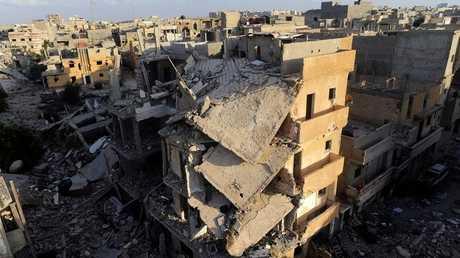 مدينة بنغازي ليبيا