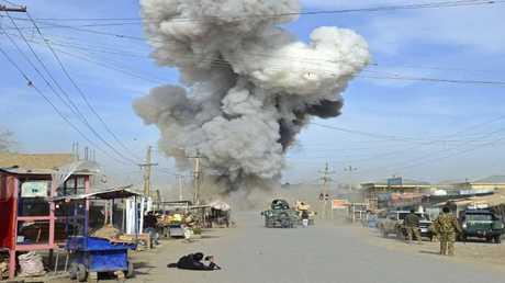 تفجير في افغانستان ارشيف