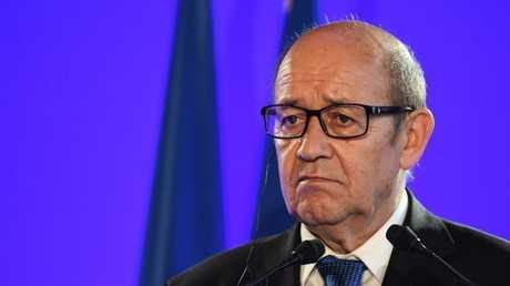 وزير خارجية فرنسا جان إيف لو دريان