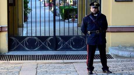 عنصر من الشرطة الإيطالية - أرشيف -
