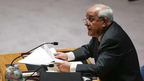 مندوب فلسطين لدى الأمم المتحدة رياض منصور