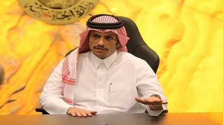 وزير خارجية قطر الشيخ محمد بن عبد الرحمن آل ثاني - ارشيف -