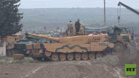 اشتباكات عنيفة في محيط عفرين السورية