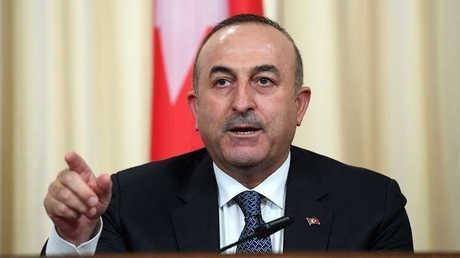 وزير الخارجية التركي مولود جاويش أوغلو