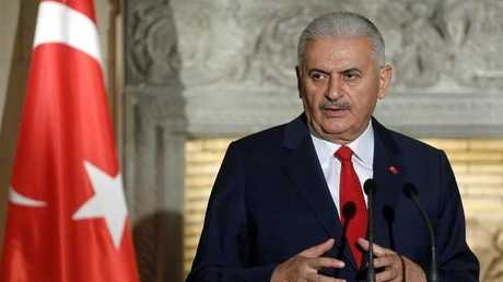 رئيس الحكومة التركية بن علي يلديريم