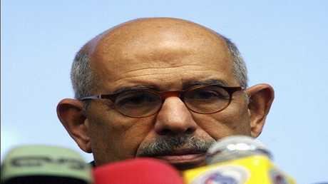 الدكتور محمد البرادعي نائب رئيس الجمهورية المصري الأسبق